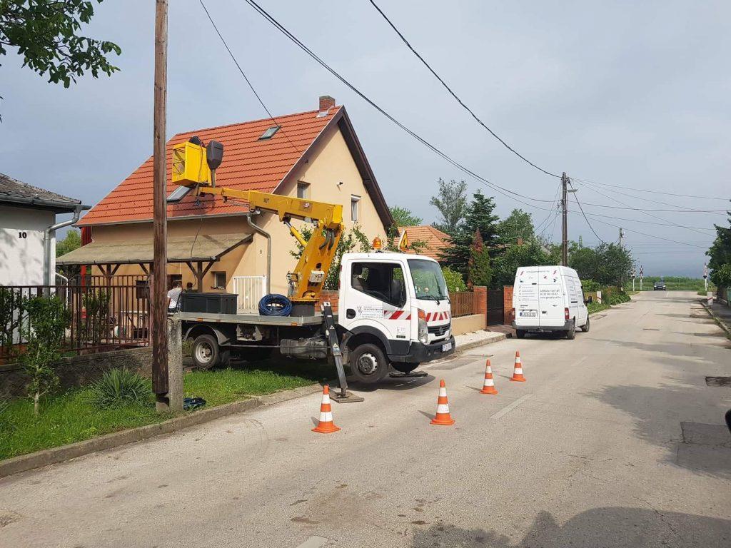 Villanyszerelés regisztrált E-on engeéllyel a Velencei-tó környékén