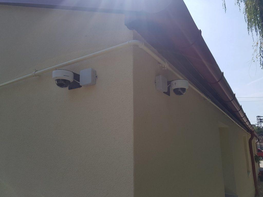Kamera és riasztó rendszerek kiépítése