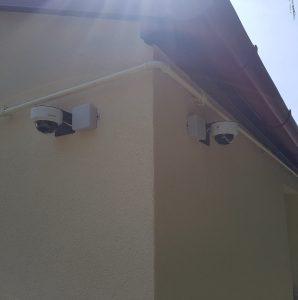 Kamera rendszer telepítve